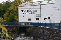 Whiskey Distillery Talisker, Isle of Skye