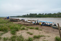 am Rio Inambari, Peru