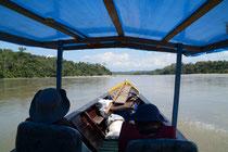 auf dem Rio Madre de Dios, Peru