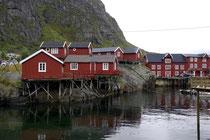 Fischerhütten von Å, Lofoten