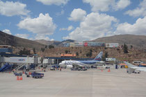 Flugplatz Cuzco; Peru