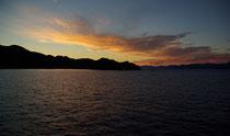 Sonnenuntergang, Insel Mljet