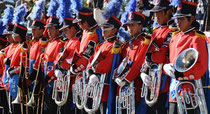 Musikfestival, San Pablo de Tiquina, Bolivien