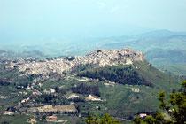 vue sur Calascibetta