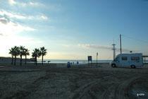 MORAIRA parking de la plage (hors saison seulement)
