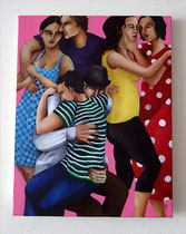 Lovers : F6 Canvas Oil 2014
