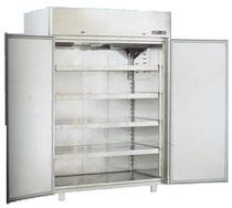 Armoire inox réfrigérée positive ou négative sans montant central Montpellier
