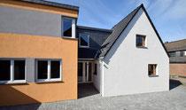 Beethovenstraße: Wiederherstellung und Erweiterung des alten Bergarbeiterhauses (weiße Siedlung)