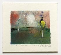 Pianura silente, 2015, 10 x 9 cm