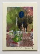 Lunghi echi, 2018, 8 x 11 cm