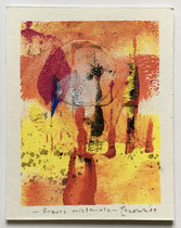 Figura misteriosa, 2019, 10 x 12 cm