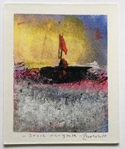 Soave navigante, 2019, 11 x 13 cm