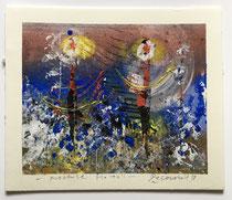 Presenze floreali, 2019, 13 x 11 cm