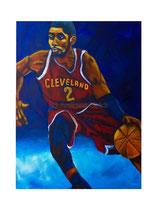 2017-01 Basketball (Acryl auf Leinwand, 60 x 80 cm)