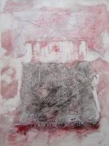 1984 - inclusion de papier d'aluminium (50x65cm)