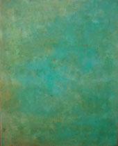 アスファルト   2013 腐食絵の具 油彩 板 370mmx293mm 作家蔵