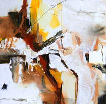 Amazonen, Acryl auf Leinwand, 60x60