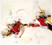Spiel der Zweisamkeit, Acryl auf Leinwand, 70x60