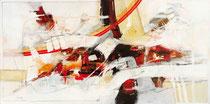 In sich ruhend, Acryl auf Leinwand, 120x60