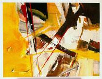 Flying Fox,  Acryl auf Leinwand, 90x70
