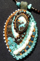 Australienne (opale Boulder 20 carats)