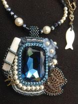 Grand bleu (cristal Swarovski)