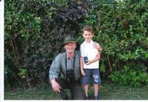 Hr. Schickling mit Enkelin