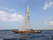 Das erste mal segeln, im Fehmarnsund