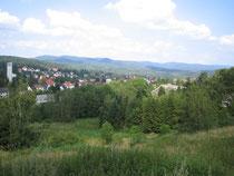 Blick auf Bad Sachsa