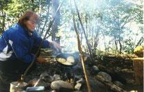 Bannocks, das Frühstück am Yukon
