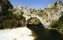 Pont d'Arc, Ardèche, Südfrankreich