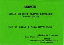 Présentation de la série de cartes postales.