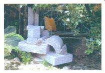 Jardin du Presbytère. Sculptures de SERVIN
