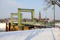 Walsum - Brücke über den Hafen