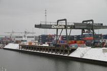 Ruhrort - Containeranlage
