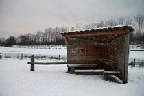Wasserwelt Wedau - Hütte