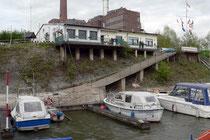 Anlegestelle des Ruhrorter Yachtclubs