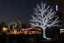 Dezember 2013 - Der 36. Weihnachtsmarkt in Duisburg wurde am 21.11. eröffnet. Er wird auch der längste: Schluss ist in diesem Jahr erst am 30. Dezember.