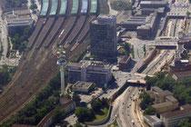 Das Gelände um den Hauptbahnhof.