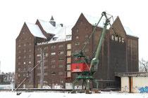 Innenhafen - RWSG-Speicher: hier entsteht das Landesarchiv NRW