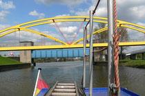 Vom Kanalhafen geht es zu Ruhr