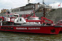 Anlegestelle der Feuerlöschboote