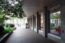 Blick vom Buchenbaum zur Königstraße