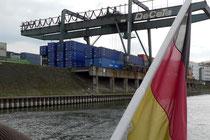 Das Container-Terminal