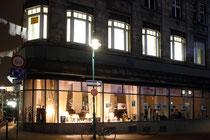 April 2015 - Für zwei Wochen erwachte die Beekstraße, früher die Haupteinkaufsstraße, während der Akzente aus ihrem Dornröschenschlaf (hier Ecke Großer Kalkhof). In Zukunft soll die Altstadt neu belebt werden. Vielleicht ja durch ein Factory Outlet?