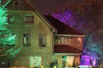 November 2014 - Am 31. Oktober öffnete das Hotel Alptraum im Villenviertel Bliersheim. Doch wer in der Halloween-Nacht versuchte einzuchecken erlebte sein blaues Wunder: im Haus und drumherum erschreckten allerlei blutrünstige Gestalten die Besucher.