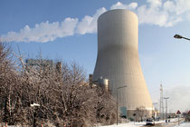 Walsum - neuer Kühlturm des Kraftwerks