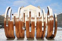 Innenstadt - Kunst vor dem Stadttheater