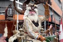 März 2007 - Dieser Mann liebt den Wilden Westen - und den Karneval. Jedes Jahr ist er mit seiner Sioux Montana Ranch dabei: Erich Wiesner, den alle Welt Fuzzy nennt.