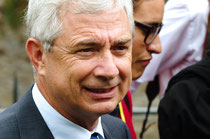 Claude Bartolone, actuel président de l'assemblée nationale. Journées parlementaires d'EELV 2013